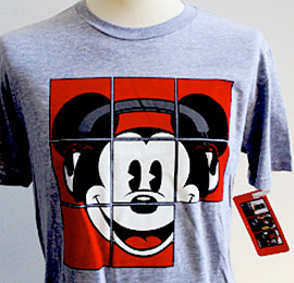 Disney Mickey Mouse Puzzle T-Shirt
